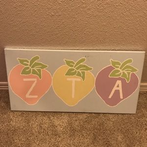 ZTA Large Canvas Painting